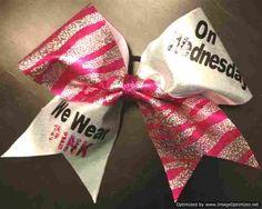 Cheer bow!