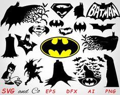 Bildergebnis für batman & robin free svg files