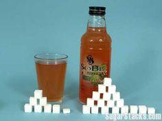 Sobe Mango Melon  8 oz (240 ml) Serving  Sugars, total:29g  Calories, total:120   Calories from sugar:116  20 oz (590 ml) Bottle  Sugar...