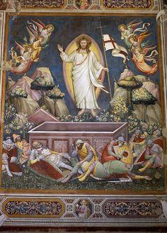 Florenz, Museo dell'Opera di Santa Croce, Auferstehung von Niccolò di Pietro Gerini (Resurrection) | da HEN-Magonza
