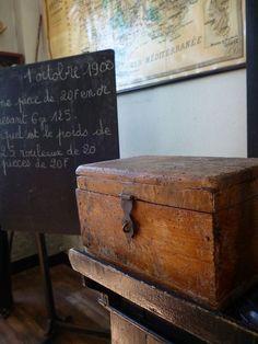 Love old wooden boxes