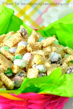 Coconut Candy Chex Mix @Beverly Kaine For Seconds #chexmix #candy #coconut