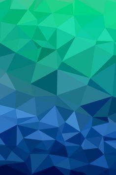 ombre geometric 3d wallpaper - photo #20