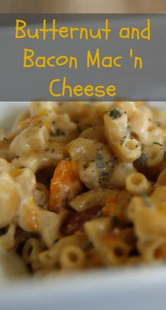 Butternut bacon mac and cheese | Life From The Ground Up