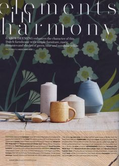 The LOFO4 aged brass tap and mixer from The Watermark Collection. http://www.thewatermarkcollection.eu/ House & Garden August 2016