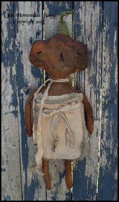 Prim Pumpkin Doll Miss Libby EPATTERN  only $8.75 instant download!