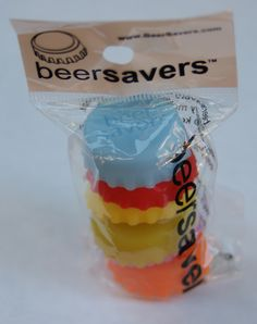 Beer Savers - Silicone Beer Bottle Cap Charms for you home brewers and party-havers.