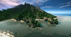 Lonely Island (Custom Map) Minecraft Project