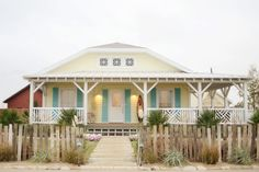 yellow and aqua colors for my beach house
