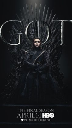 Arya Stark (Maisie Williams) - 🐲 Game of Thrones Final Season (only 6 episodes) - premieres this Sunday, April 2019 on HBO Jaime Lannister, Cersei Lannister, Daenerys Targaryen, Game Of Thrones Movie, Game Of Thrones Poster, Watch Game Of Thrones, Game Of Thrones Facts, Game Of Thrones Quotes, Game Thrones