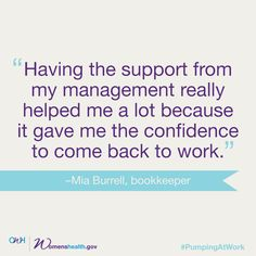 Pregnant or recently had a baby? Our new online resource can help you and your employer come up with a plan that will let you keep nursing after you go back to work. Because you shouldn't have to choose between your job and breastfeeding.  #pumpingatwork #breastfeeding