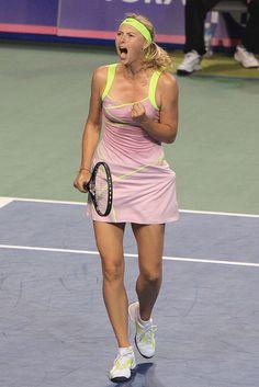 Maria Sharapova - Yell of Victory