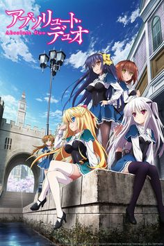 Winter 2015, Absolute Duo: Absolutely generic, but they had me at fight the person next to you.