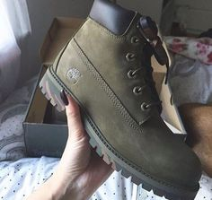 shoes timberlands timberland boots shoes olive green