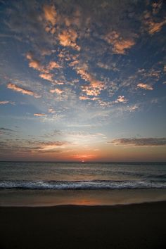 Sunrise in the OBX (by Howling at the Moon Photography)  Beautiful sunrise north end of Duck this morning