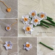 Daffodils   DoubleTrebleTrinkets
