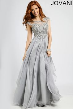 Silver Empire Waist Dress 93548