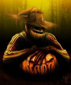 Scarecrow art | Scarecrow by *edsfox on deviantART