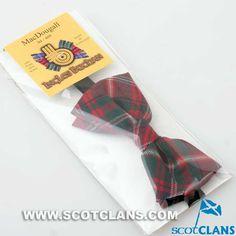 Clan MacDougall Tartan Bow Tie