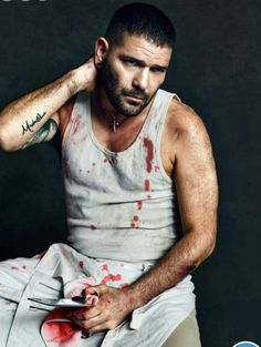Huck from Scandal TV Show Series  ... after work
