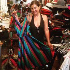 Super cute dress sold to super cute customer, Christine.