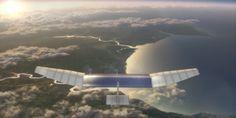 Image d'un drone solaire sur lequel travaillent les équipes de Facebook.http://www.lemonde.fr/technologies/article/2014/03/28/facebook-travaille-sur-des-drones-fournisseurs-d-acces-a-internet_4391183_651865.html