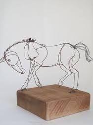 Resultado de imagen para alexander calder esculturas de alambre