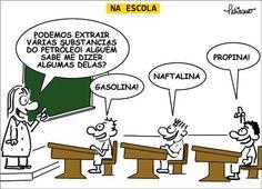 Substancias do petróleo… | Humor Político