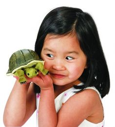 Turtle Finger Puppet 2732 by Folkmanis Puppets Inc. Mini Turtles, Turtle Love, Finger Puppets, Garden Ideas, Fan, Store, Products, Tent, Larger