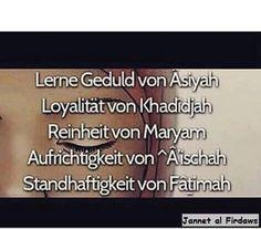 Eigenschaften einer Frau im Islam ❤️