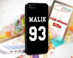 """Zayn malik 93 1D - Print On Hard Case iPhone 5/5s """"note for 5c"""""""