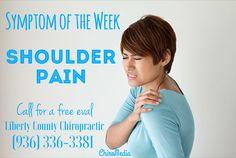 Symptom of the Week: Shoulder Pain
