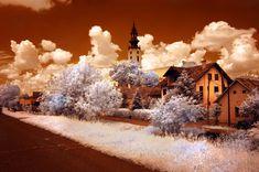 Infrared Photography taken using Nikon D50, Cokin P007 infrared filter