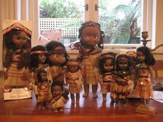 maori dolls Kitsch Art, Maori People, New Zealand Houses, Kiwiana, Poppy, Thrifting, Charity, Barbie, Collections