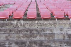 Red tiered seats of theater Tiered Seating, 3d Assets, Theater, Adobe, Templates, Image, Stencils, Theatre, Cob Loaf