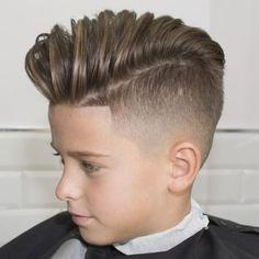 peinados para niños de moda elegantes