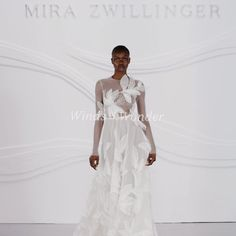 """Mira Zwillinger on Instagram: """"The opportunity to virtually share our latest """"winds of wonder"""" runway show has been exceptional, and the unveiling still feels incredibly…"""""""