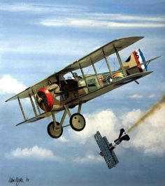 SPAD XIII Jacques Michael Swaab, by Iain Wyllie
