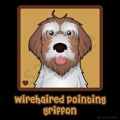 Wirehaired Pointing Griffon Cartoon Shirt