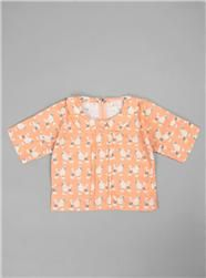 Couverture and The Garbstore - Childrens - Morley - Radia Poodle Print Top