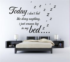 creative wall sticker for modern bedrooms - Give a touch of creativity to your home with the wall stickers
