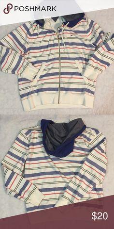 Tommy Hilfiger men's large hooded sweatshirt Excellent condition Tommy Hilfiger Shirts Sweatshirts & Hoodies