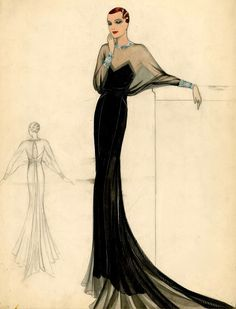 Vintage kleidung Jahre - Fashion sketches - Do You Need A C 1930s Fashion, Art Deco Fashion, Look Fashion, Retro Fashion, Fashion Design, French Fashion, Korean Fashion, Winter Fashion, Fashion Tips
