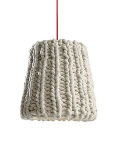Wouldn't this crochet lamp by Casamania be a nice touch?