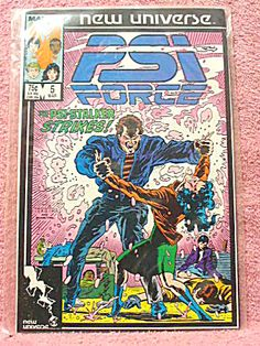 psi force comic book covers - Google Search