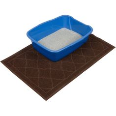 """Easyology Premium Cat Litter Mat. Extra-Large, Stylish Kitty Litter Mat Prevents Messes, Protects Your Floors & Looks Great Doing It. Save 29% only at $24.95!  Why it is best? LESS VACUUMING & SWEEPING. EXTRA LARGE & BUILT TO LAST. EASY TO CLEAN. LOOKS FANTASTIC. GREAT AS A DOORMAT.  If you don't love your Easyology Premium Cat Litter Mat, we'll refund your money, no questions asked.  Click """"Add to Cart"""" and order yours today! For more details please visit www.easyologypets.com"""