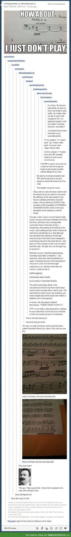 Let's have some fun with a hilarious band post. It's long, but worth the read! Hahaha I'm crying I'm laughing so hard