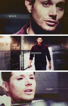[gifset] I got a hell of a lot more running through me than demon juice. #SPN #DemonDean #Dean