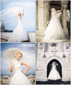 Edina menyasszony by La Mariée Budapest - Octavia esküvői ruha by Pronovias 5e5db2bf2c