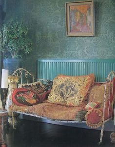 images of bohemian interiors | Interior Alchemy... Color Me Speechless!